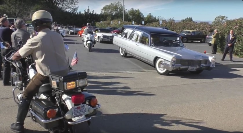 George Barris Funeral - Click For Full Video