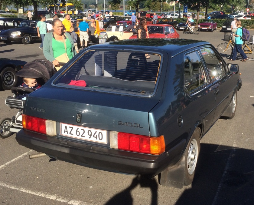 1988 Volvo 340 DL- verrily a terrible photo.