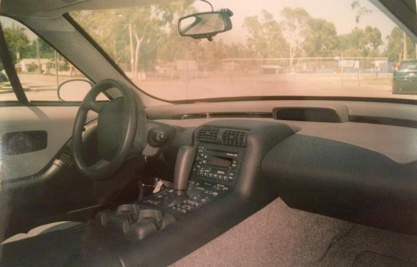 1997 GM EV-1 interior