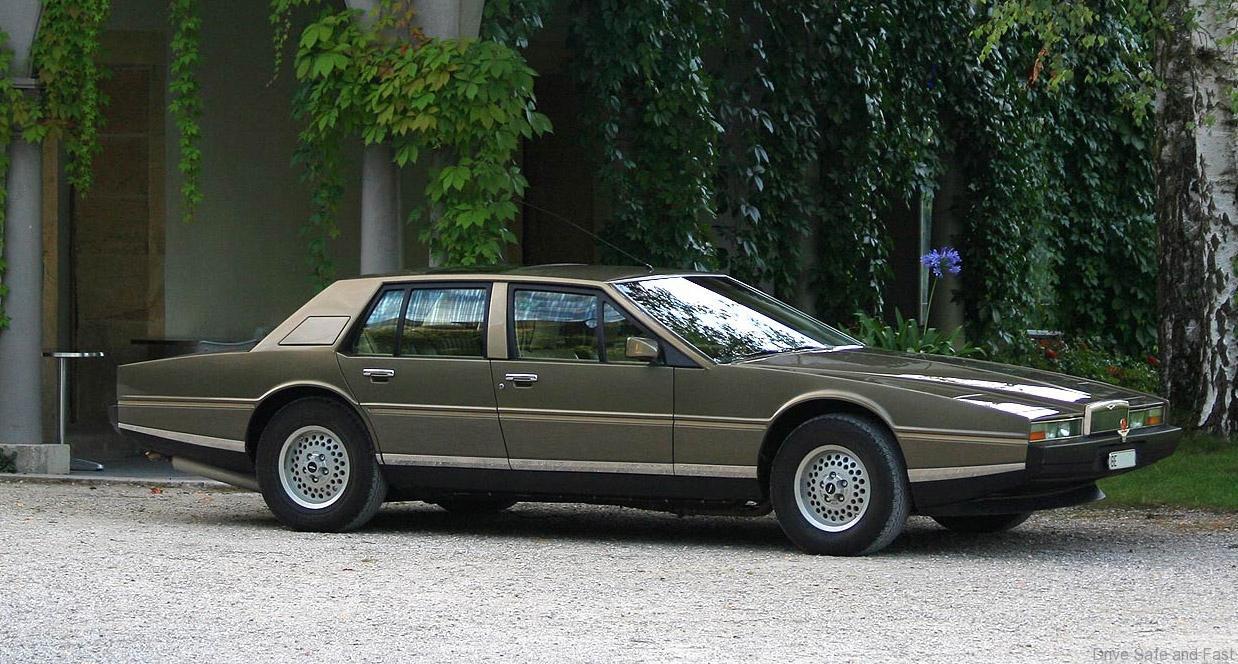 Future Postponed 1976 Aston Martin Lagonda Driven To Write