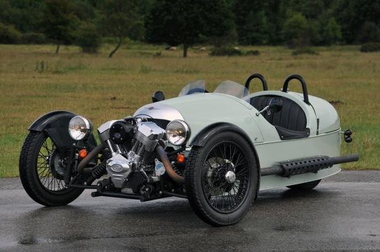Morgan 3-Wheeler - image : luxedb.com