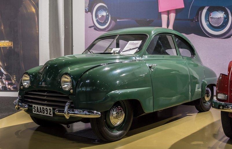 1950 Saab 92: niels moesgaard jörgensen