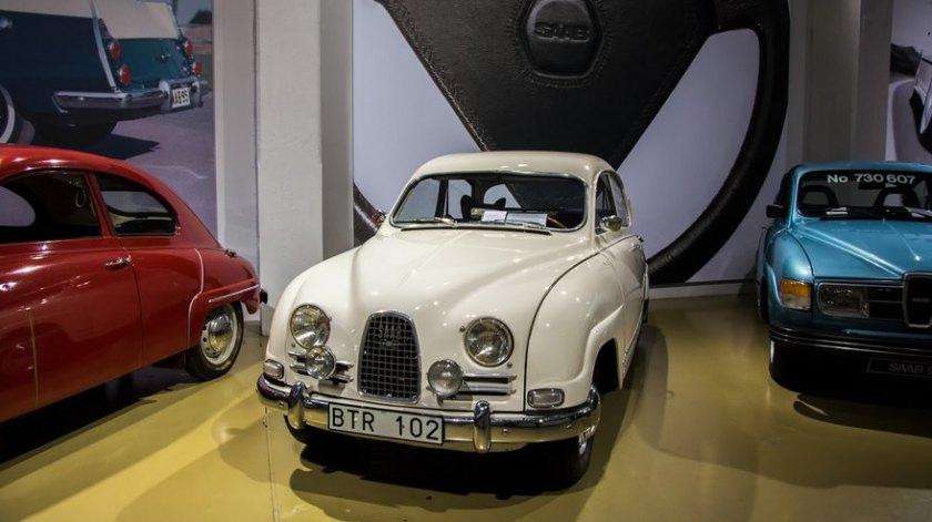 1962 Saab Sport: niels moesgaard jörgensen