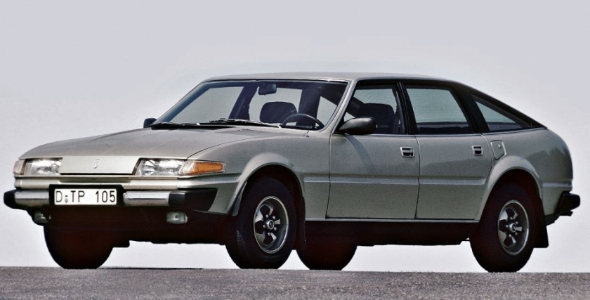 1977 Rover SD1. Image: Drivemy