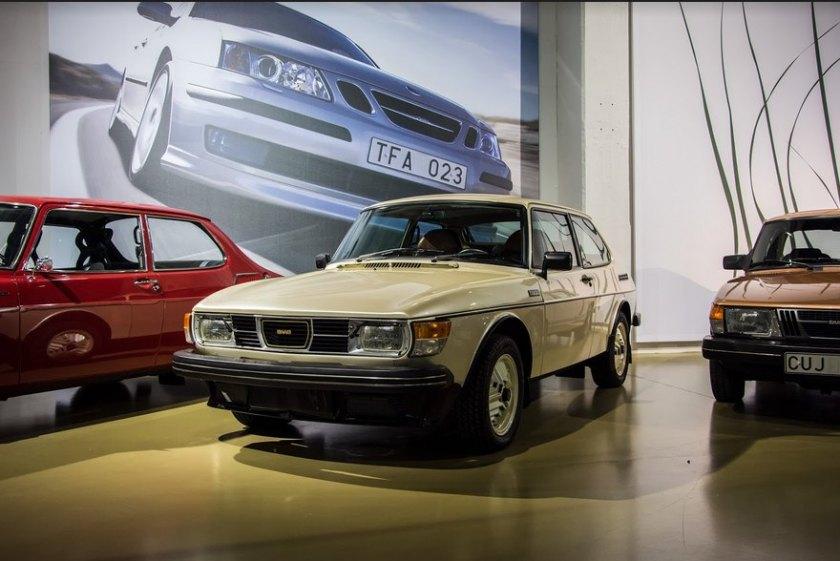1977 Saab 99 Turbo: niels moesgaard jörgensen