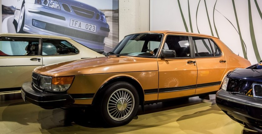 1981 Saab 900 (Geneva show car from 1980): niels moesgaard jörgensen