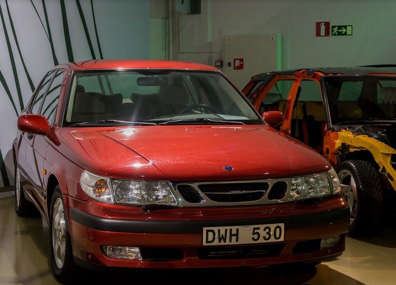 1997 Saab 9-5: niels moesgaard jörgensen