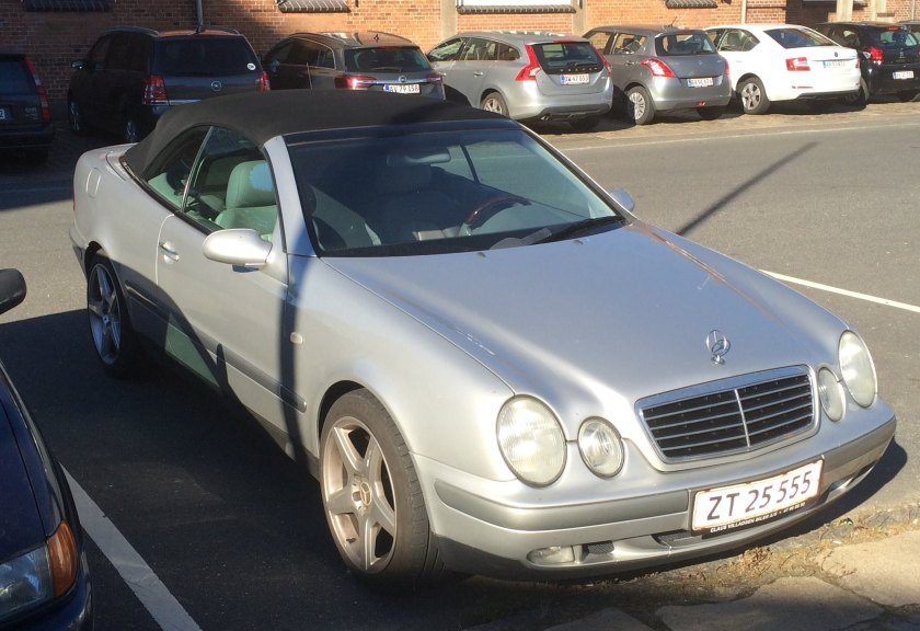 1997 Mercedes Benz CLK