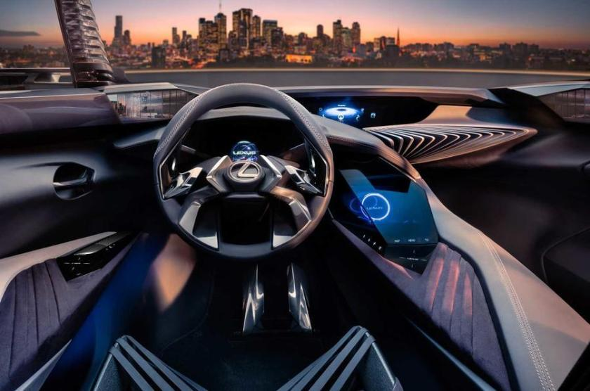 2016 Lexus UX interior: source