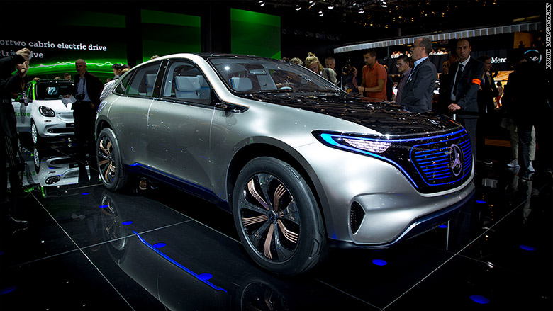 2016 Mercedes EQ concept car: source