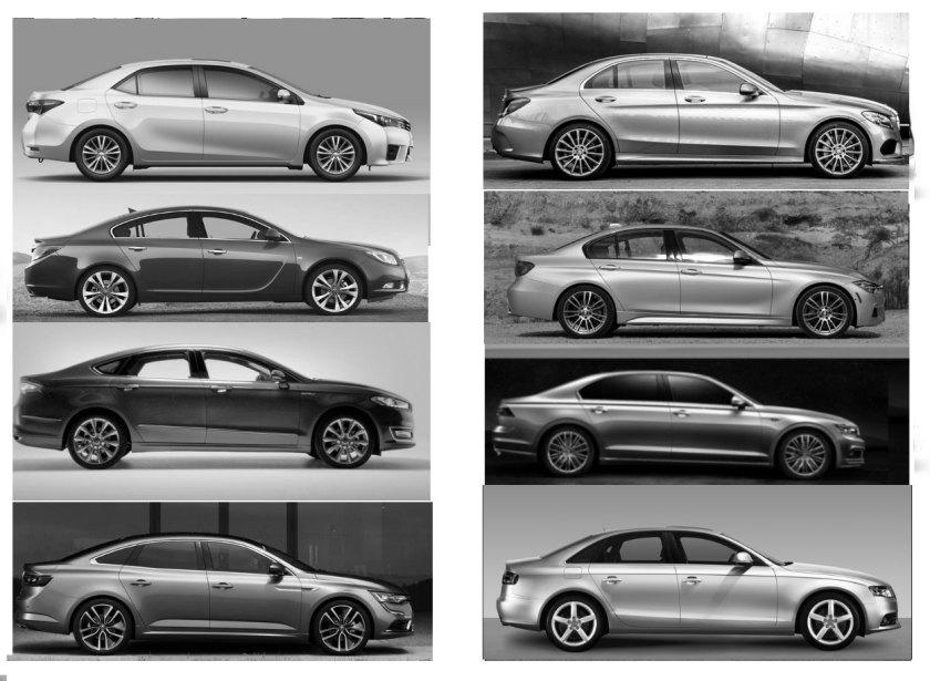 Top selling saloons and others