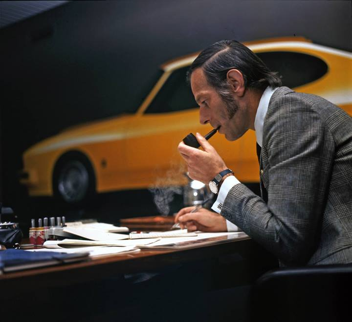 Director of styling, Uwe Bahnsen. Image: Cardesignnews.com