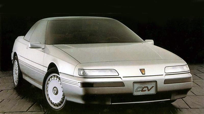 1986 Rover CCV concept. Image: arrse.com