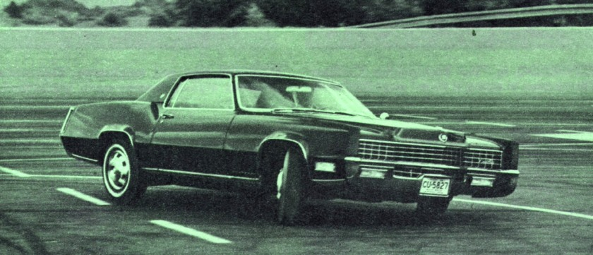 Being put to inappropriate use? A '67 Eldorado - The Oldsmobile was stiffer.
