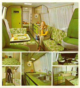 GMC Motorhome Interior - image : gmcmotorhome.com