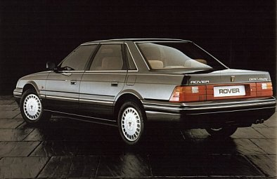 1986 Rover 800. Image: racem.org