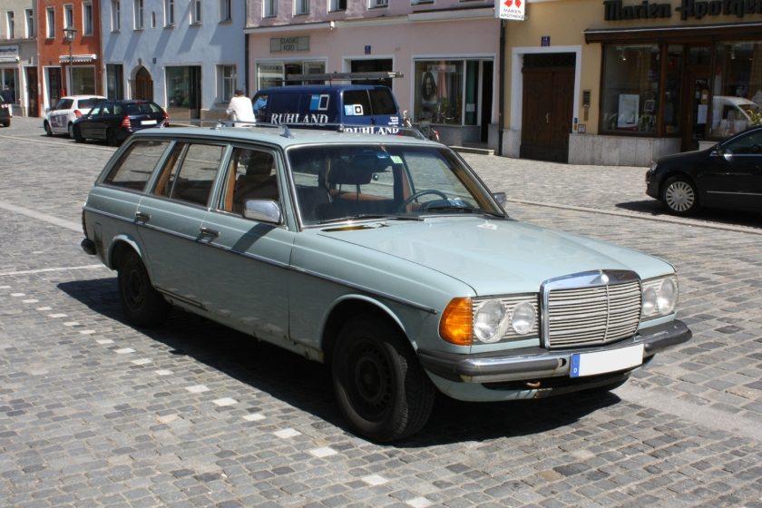 W123s - they really do just run and run.
