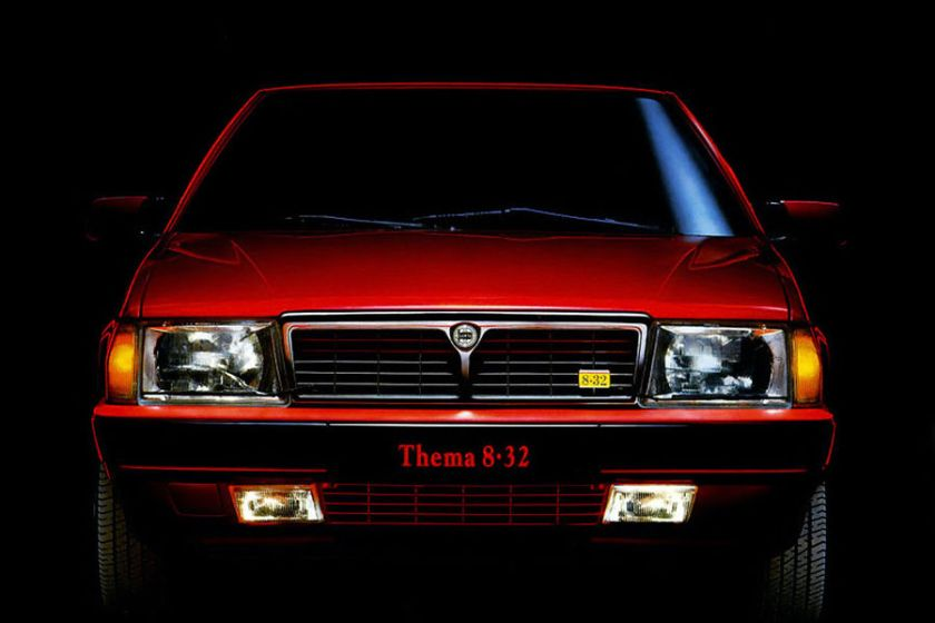 Going To Extremes 1986 Lancia Thema 832 Driven To Write