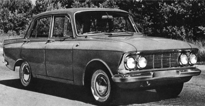Moskvitch 412 - image : automobile-calalog.com