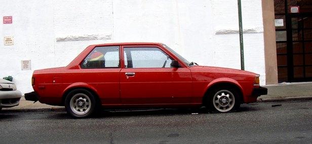 1982 Toyota Corolla 2-door saloon: source