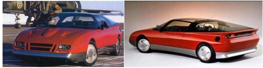 1085 Saab EV concept car