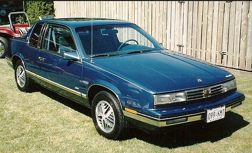 1987 Oldsmobile Calais: source