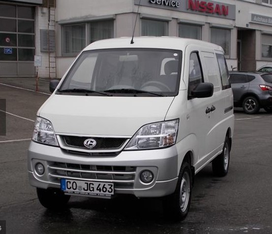 2014 Changhe microvan