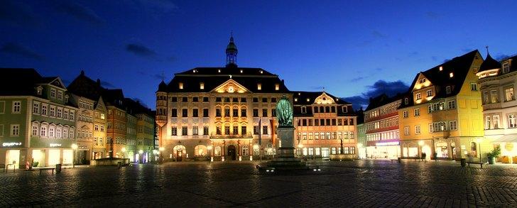 Coburg markplatz: source