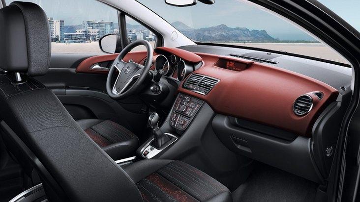2016 Opel Meriva interior: opel.es