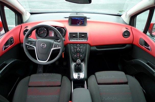 2016 Opel Meriva interior: source