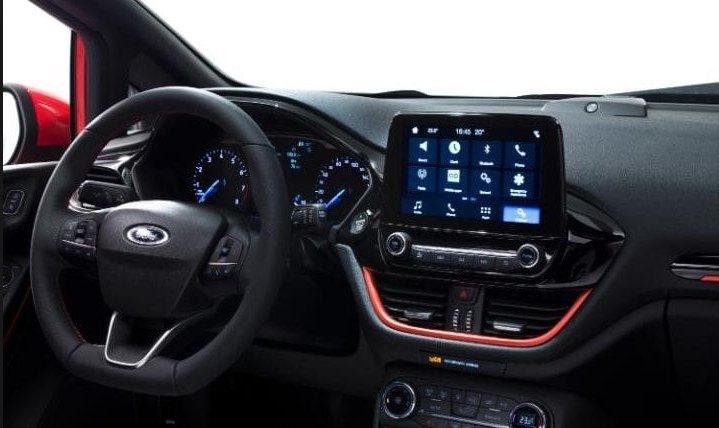 2017 Ford Fiesta interior: telegraph.co.uk