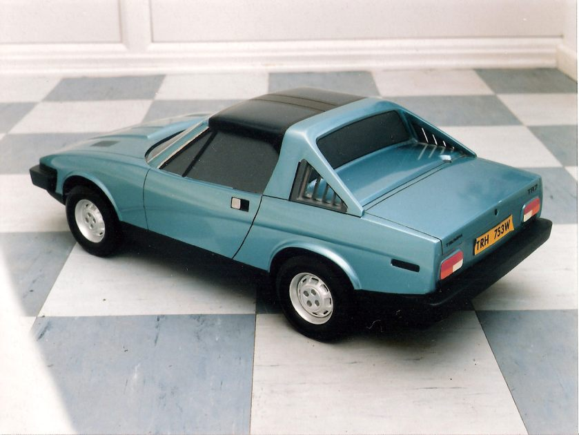 Triumph TR7 Targa proposal. Image: TR8archive