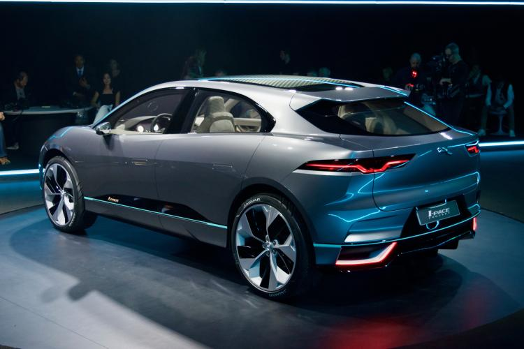 Electric Shock Jaguar I Pace Driven To Write