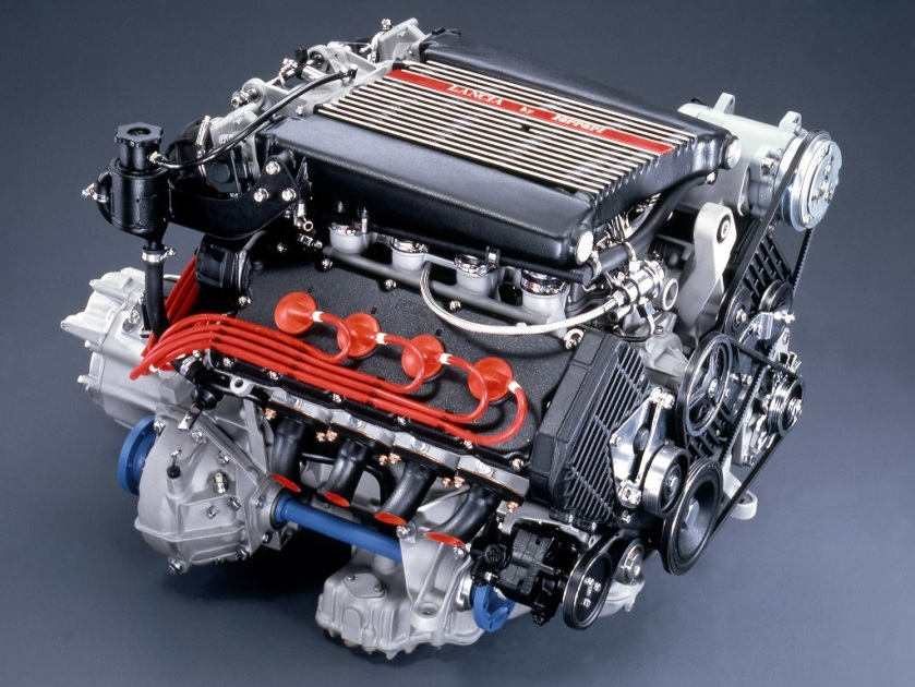 Lancia by Ferrari - the 832 engine. Image: pistonheads