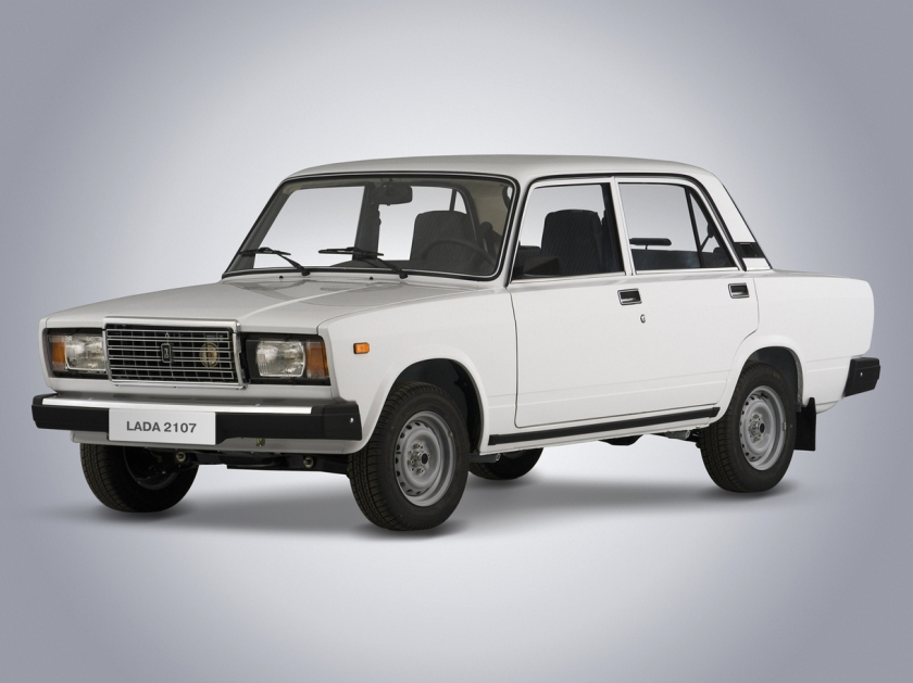 The final VAZ-2107 - image : roadsmile.com