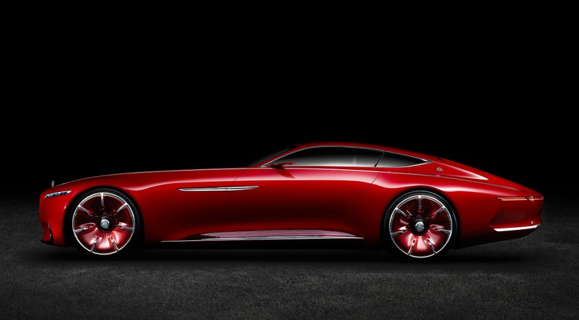A nonsensical car for a nonsensical year. The Vision Mercedes Maybach 6
