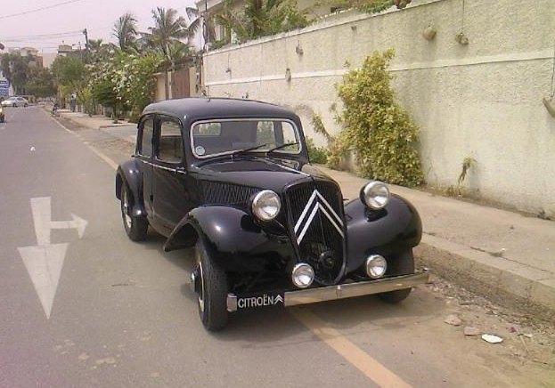 1952 Citroen Traction Avant: www.pakwheels.com