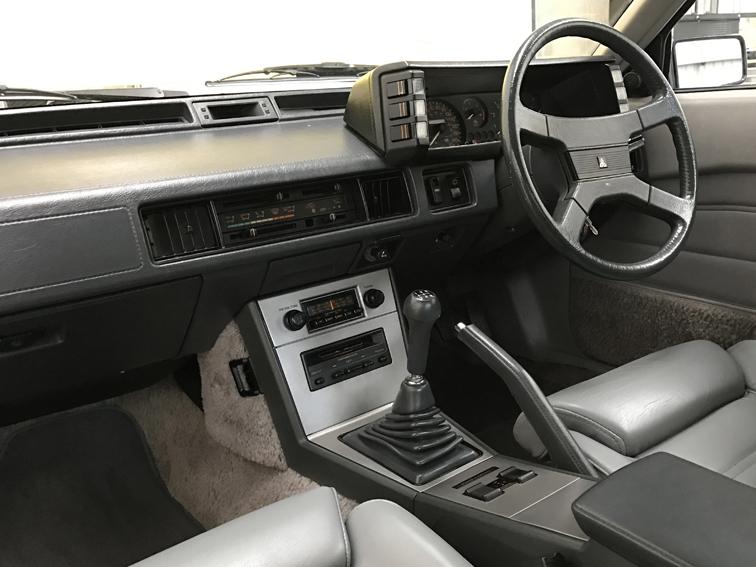 1983 Mitsubishi Starion interior: stone cold classics