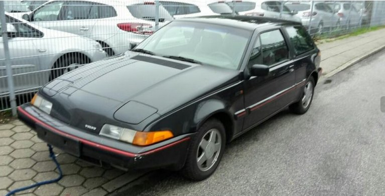 1991 Volvo 480 Turbo: source