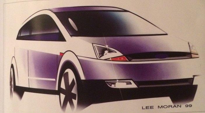 2002 Ford Fiesta sketch: auto&design