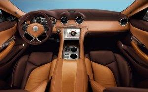 2012 Fisker Karma interior: motor trend