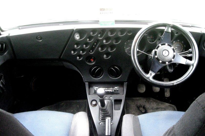 1981 Lancia Trevi 2000 interior