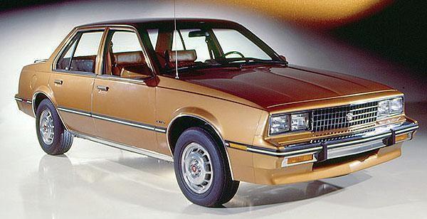 1982 Cadillac Cimarron: source