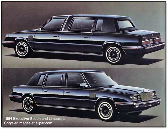 1984 Chrysler Executive: source