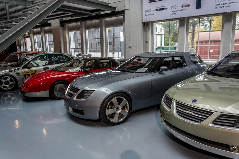 Saab Museum The Concept Cars Driven To Write