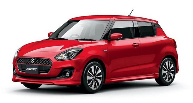 2017 Suzuki Swift: source