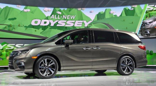 2018 Honda Odyssey: source