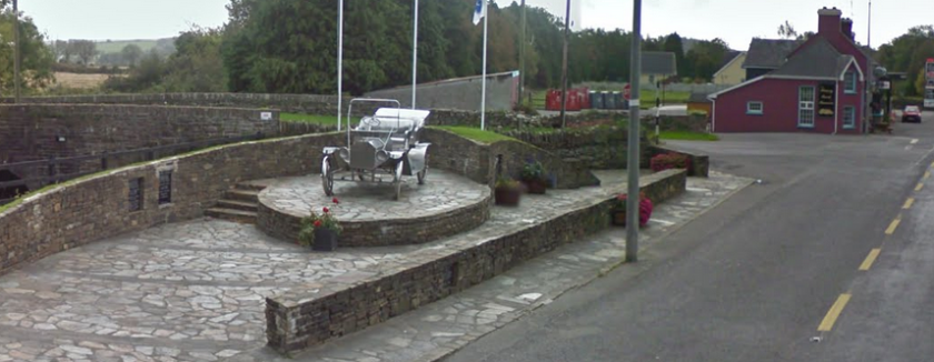 The Henry Ford Memorial at Ballinascarthy. Image: Corkathletics
