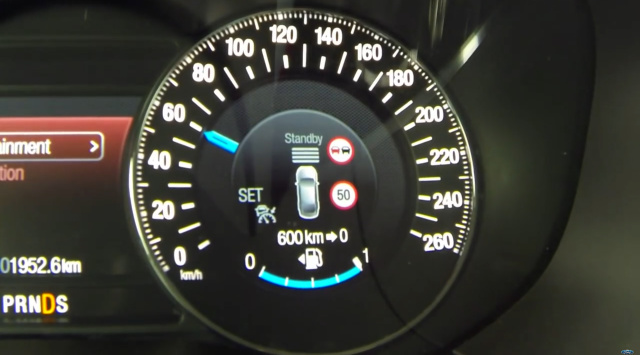 Not so S-Max. Ford's Intelligent Speed Limiter.