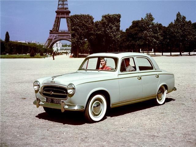 Coherent : Peugeot 403